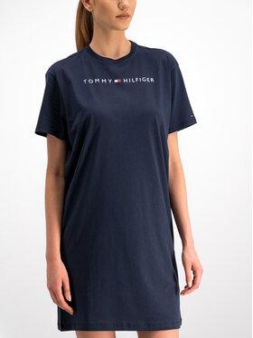 TOMMY HILFIGER TOMMY HILFIGER Kasdieninė suknelė Rn Dress Half Sleeve UW0UW01639 Tamsiai mėlyna Regular Fit