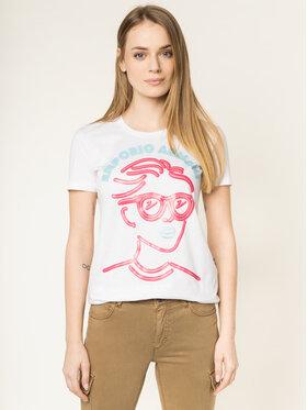 Emporio Armani Emporio Armani T-Shirt 3H2T7H 2J95Z 0100 Biały Regular Fit