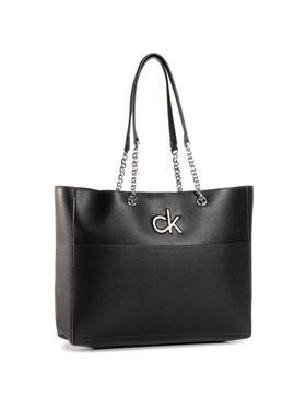 Calvin Klein Calvin Klein Kabelka Re-Lock Shopper K60K606676 Černá