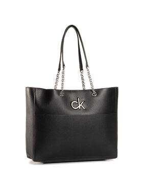 Calvin Klein Calvin Klein Táska Re-Lock Shopper K60K606676 Fekete