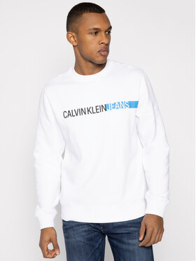 Calvin Klein Jeans Calvin Klein Jeans Μπλούζα Institutional J30J314871 Λευκό Regular Fit