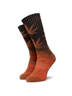 HUF HUF Ilgos Unisex Kojinės Plantlife Gradient Dye Sock SK00434 r.OS Oranžinė