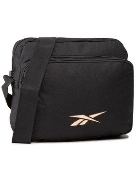 Reebok Reebok Плоска сумка Rose Gold City Bag GS0249 Чорний