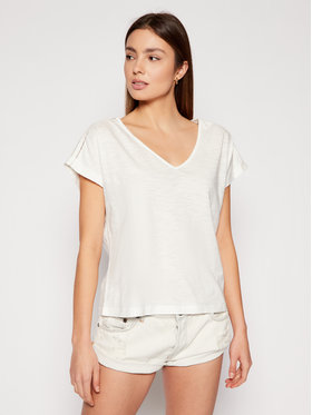 Roxy Roxy T-shirt Starry Dream ERJKT03651 Bijela Regular Fit