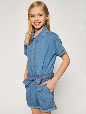 Little Marc Jacobs Little Marc Jacobs Jumpsuit W14228 M Blu Regular Fit