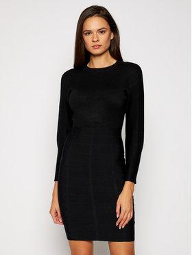 Guess Guess Úpletové šaty Daisy W0BK0U Z26I0 Černá Slim Fit