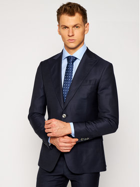 Oscar Jacobson Oscar Jacobson Anzug Elmer Suit 2078 5333 Dunkelblau Slim Fit