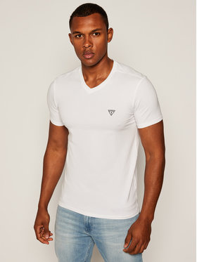 Guess Guess T-Shirt M64I54 J1300 Biały Super Slim Fit