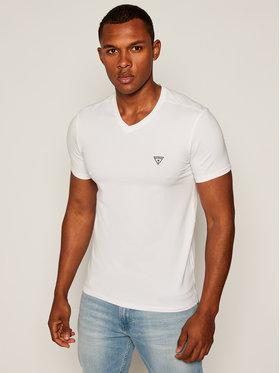 Guess Guess T-Shirt M64I54 J1300 Bílá Super Slim Fit