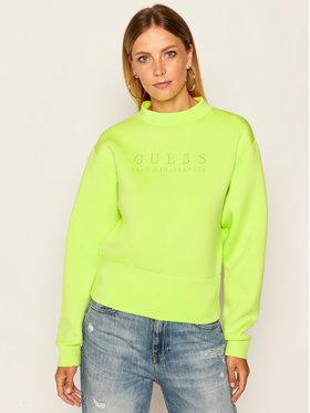 Guess Guess Bluza Romina W0YQ40 K7UW0 Zielony Regular Fit