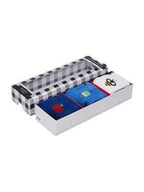 Tommy Hilfiger Tommy Hilfiger Set de 3 perechi de șosete lungi pentru copii 100002325 Colorat