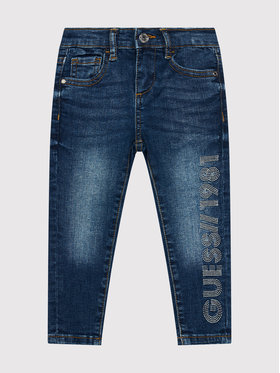 Guess Guess Jean K1YA06 D3UF0 Bleu marine Skinny Fit