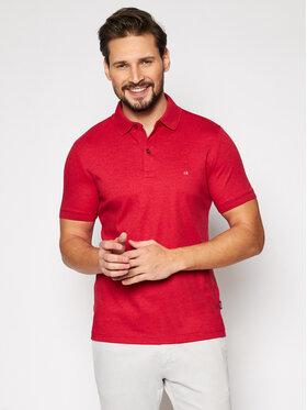 Calvin Klein Calvin Klein Polokošeľa Liquid Touch K10K107090 Červená Slim Fit