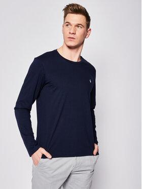 Polo Ralph Lauren Polo Ralph Lauren Тениска с дълъг ръкав 714706746 Тъмносин Regular Fit