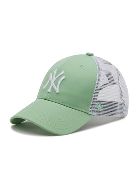 47 Brand 47 Brand Kšiltovka Ny Yankees Branson Trucker B-FLGSH17GWP-HK Zelená