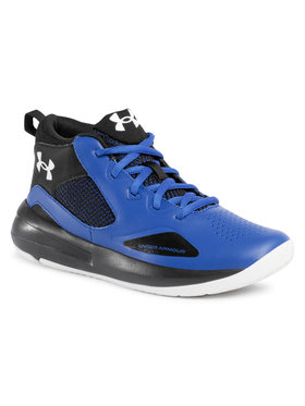 Under Armour Under Armour Boty Ua Gs Lockdown 5 3023533-400 Modrá