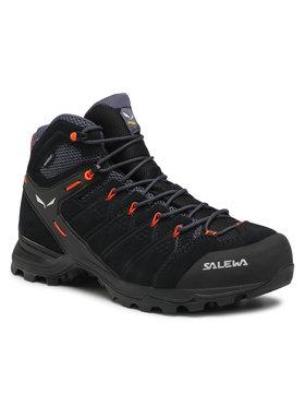 Salewa Salewa Chaussures de trekking Ms Alp Mate Mid Wp 61384-0996 Noir