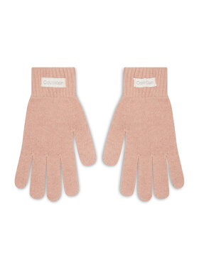 Calvin Klein Calvin Klein Γάντια Γυναικεία Organic Ribs Gloves K60K608508 Ροζ