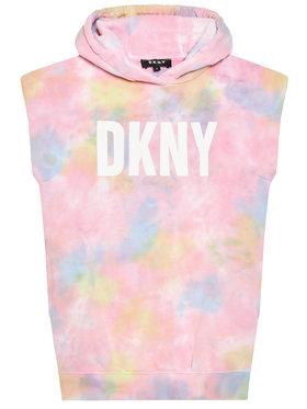 DKNY DKNY Každodenné šaty D32780 D Ružová Regular Fit