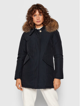Woolrich Woolrich Zimska jakna Arctic Raccoon CFWWOU0538FRUT0001 Tamnoplava Regular Fit