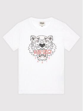 Kenzo Kids Kenzo Kids T-Shirt K15158 Biały Regular Fit