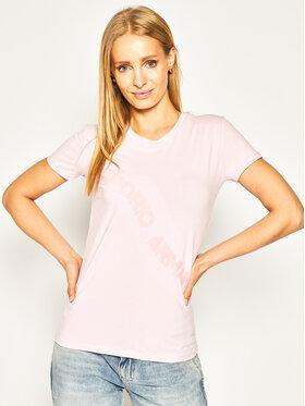 Emporio Armani Emporio Armani T-Shirt 3H2T6F 2JQAZ 0322 Růžová Regular Fit