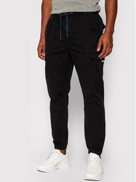 Tommy Jeans Tommy Jeans Pantalon en tissu Cargo DM0DM10511 Noir Regular Fit