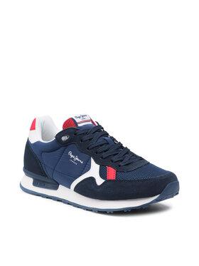 Pepe Jeans Pepe Jeans Sneakersy Britt Man Reverse PMS30753 Tmavomodrá