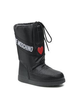 LOVE MOSCHINO LOVE MOSCHINO Апрески JA24032G1DISA000 Черен