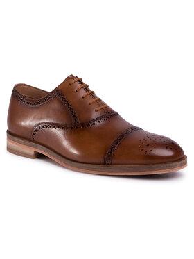 Clarks Clarks Pantofi Oliver Limit 261475257 Maro