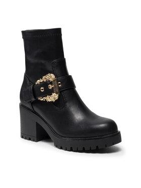 Versace Jeans Couture Versace Jeans Couture Členková obuv 71VA3S92 Čierna