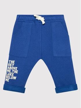 United Colors Of Benetton United Colors Of Benetton Teplákové kalhoty 3EB5I0507 Modrá Regular Fit