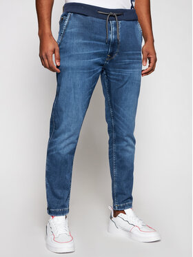 Pepe Jeans Pepe Jeans Jogger kelnės GYMDIGO New Johnson PM205897 Mėlyna Relaxed Fit