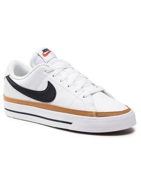 Nike Nike Обувки Court Legacy CU4149 102 Бял