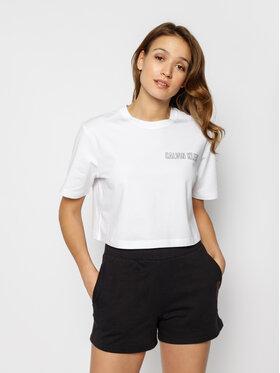Calvin Klein Performance Calvin Klein Performance T-Shirt Cropped Gym 00GWS0K165 Cropped Fit