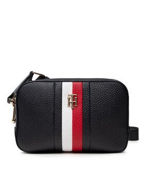 Tommy Hilfiger Tommy Hilfiger Handtasche Th Essence Camera Bag Corp AW0AW10229 Dunkelblau