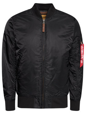 Alpha Industries Alpha Industries Яке бомбър Ma-1 Vf 59 Long 168100 Черен Slim Fit
