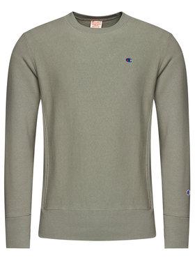 Champion Champion Bluza Reverse Weave 215215 Zielony Custom Fit