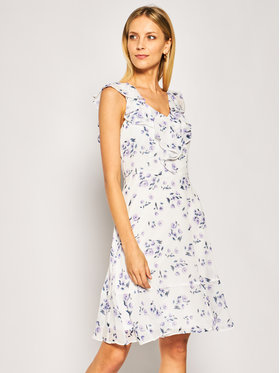 DKNY DKNY Sukienka letnia DD9BY153 Biały Regular Fit