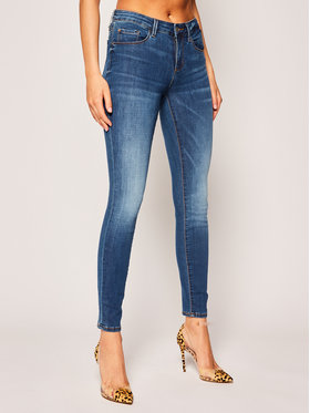 Guess Guess jeansy Skinny Fit Annette W0GA99 D41F2 Blu scuro Skinny Fit