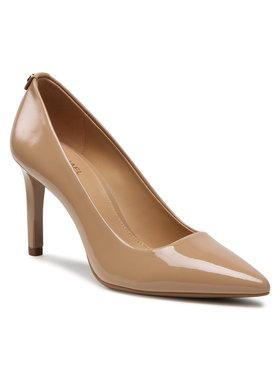MICHAEL Michael Kors MICHAEL Michael Kors Pantofi cu toc subțire Dorothy 40F6DOMP1A Bej