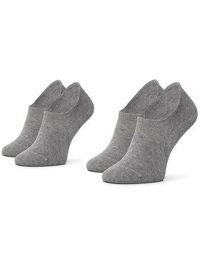 Tommy Hilfiger Tommy Hilfiger Комплект 2 чифта къси чорапи унисекс 382024001 Сив