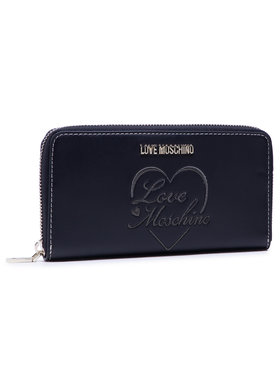 LOVE MOSCHINO LOVE MOSCHINO Veľká dámska peňaženka JC5604PP1BLC0000 Čierna