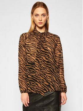 Liu Jo Liu Jo Marškiniai WF0192 T0110 Ruda Regular Fit