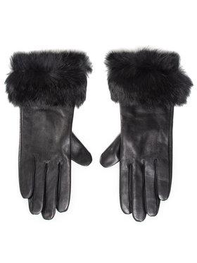 Liu Jo Liu Jo Дамски ръкавици Guanto Con Pelliccia 2F0089 P0300 Черен
