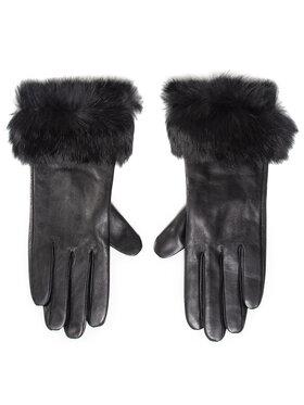 Liu Jo Liu Jo Ženske rukavice Guanto Con Pelliccia 2F0089 P0300 Crna