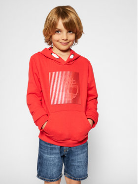 Timberland Timberland Sweatshirt T25S10 S Orange Regular Fit