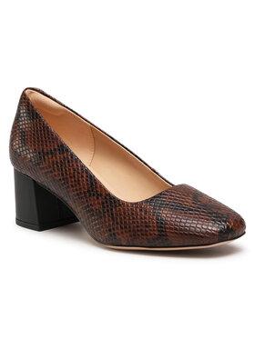 Clarks Clarks Обувки Sheer Rose 2 261513874 Кафяв
