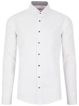 Stenströms Stenströms Marškiniai 684111 1176 Balta Slim Fit