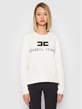 Elisabetta Franchi Elisabetta Franchi Sweatshirt MD-001-16E2-V180 Weiß Regular Fit